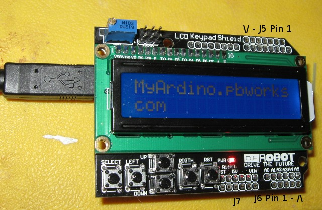 Myarduino licensed for non commercial use only lcd shield